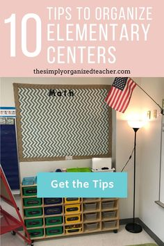 Organize your elementary centers and activities for math and literacy centers with the tips shared in this post. Guided Reading Organization, Teacher Organization, Organization Hacks, Reading Stations, Literacy Stations, Literacy Centers, Teacher Must Haves, Organized Teacher, First Year Teachers