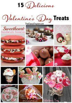 15 Delicious Valentine's Day Treats