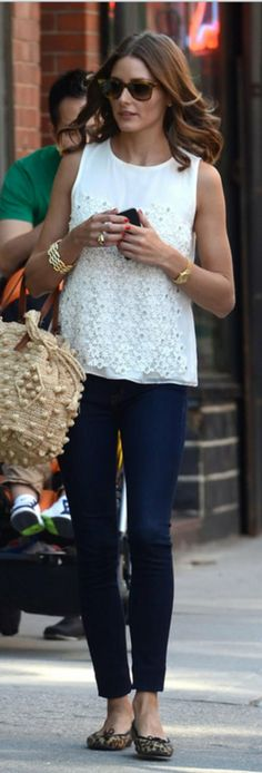 How to Style with Chic + Sweet Eyelet... Olivia Palermo