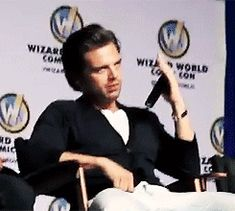 Someone must have said Bucky is a villain... :) / Sebastian Stan