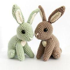 Hopscotch Bunny amigurumi pattern by Irene Strange