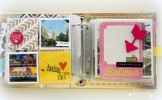 Heidi Swapp project life cards- mini album! @kimjeffress for @heidiswapp  #heidiswapp  #hsprojectlife  #projectlife