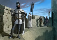 Teutonic Knight by ~EthicallyChallenged on deviantART - illustration for magazine