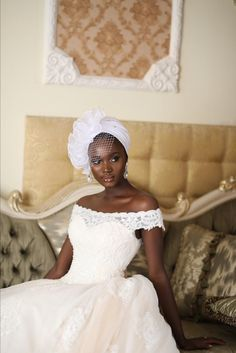 Ceremony Dresses, Wedding Dresses, Hair Turban, Turban Hat, Hair Wrap Scarf, Black Bridesmaids, African American Weddings, Wedding Veil, 1920s Wedding