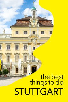 There are lots of things to do in Stuttgart - including great museums, art galleries, historical monuments, and motoring experiences. Here are my tips for the best things to so in Stuttgart, Germany! germany things to do Europe Destinations, Best Holiday Destinations, Europe Travel Guide, Travelling Europe, Travel Guides, Traveling, Cities In Germany, Visit Germany, Germany Travel