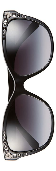 LOOKandLOVEwithLOLO: Versace 56mm Retro Sunglasses Black