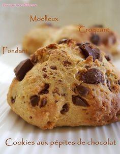 Cookies sans beurre aux pépites de chocolat