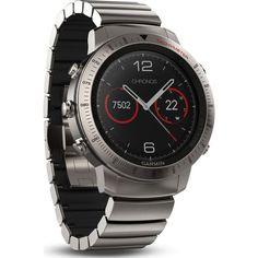 Garmin Fenix Chronos Multi-Sport GPS Watch | Hybrid Titanium