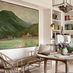 Colors: Dallas-based designer Shannon Bowers in Milieu magazine. Home Interior, Interior And Exterior, Interior Decorating, Interior Design Magazine, Home Living, Living Spaces, Living Room, Home Modern, Deco Boheme