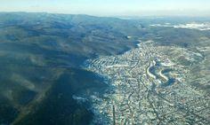 Miskolc a magasból Jamaica Plain, Australia Living, Our World, Sicily, Countryside, City Photo, Ireland, Homes, Thoughts