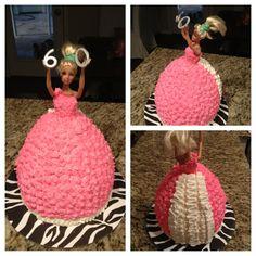 Barbie cake by Eggleston's Edibles