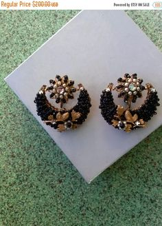 Check out this item in my Etsy shop https://www.etsy.com/listing/267672033/on-sale-vintage-1950s-earrings-jonne