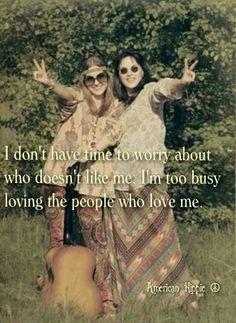 ☮ American Hippie ☮ Good people