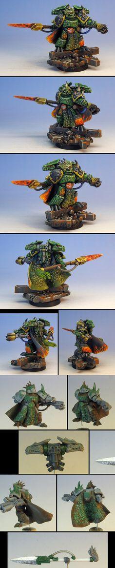 Salamanders Vulkan conversion, Warhammer 40k