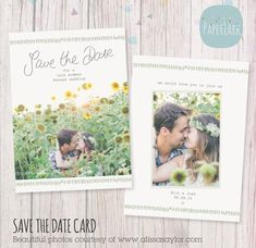 Wedding Save The Date Card from Paper Lark Designs Wedding Save The Dates, Save The Date Cards, Cute Wedding Ideas, Perfect Wedding, Free Font Websites, Star Wedding, Online Printing Services, Photoshop Design, Your Cards