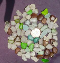 green lime sea beach glass small 200 pieces lots bulk 8-12mm jewelry use
