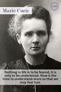 Marie Curie quote: N
