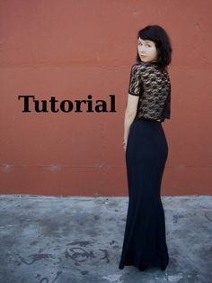 Lace Top & Maxi Skirt