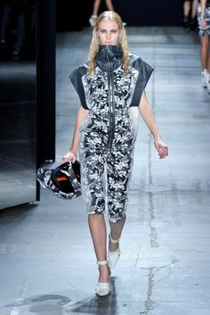 Alexander Wang Spring 2012 Ready-to-Wear Fashion Show - Emily Baker