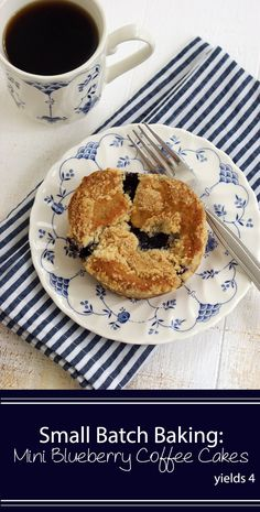 Mini Blueberry Coffee Cakes
