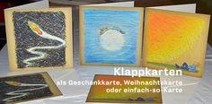 Klapp-Geschenkkarten mit Motiven aus den Büchern der EDITION PASTORPLATZ.