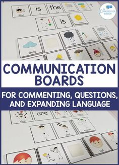 Communication Boards Interactive Activities for Speech Therapy and Special Education Classrooms - activities to increase commenting, teach asking questions, and expanding utterances for children with autism and language delays, ideas push-in preschool spe Interactive Board, Interactive Activities, Classroom Activities, Classroom Ideas, Autism Classroom, Special Education Classroom, Helping Children, Children With Autism, Speech Language Pathology