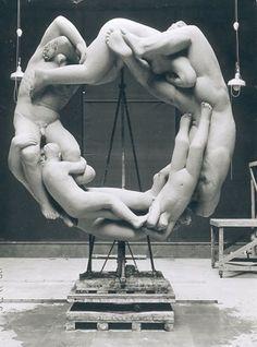 Gustav Vigeland |The Wheel of Life, 1933-34