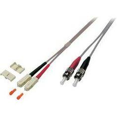 Glasfaser LWL Anschlusskabel [1x SC-Stecker - 1x ST-Stecker] 50/125µ Multimode OM2 5 m EFB Elektronik