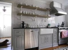 stove and sink on same wall - Google Search