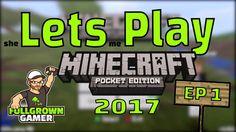 Lets Play |  MCPE - Survival Episode 1 (PORK CHOP OF DOOM!!!)
