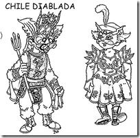 Dibujos y clipart Fiestas patrias de Chile | Jugar y colorear