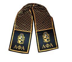Alpha Phi Alpha scarf