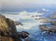 W. Ritschel-Morning on the Pacific Coast