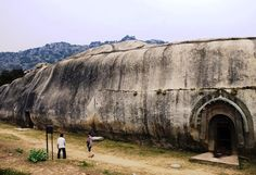 Barabar caves, India.