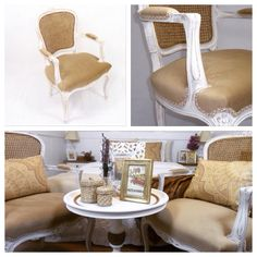 Muebles restaurados mediterraneament Decor, Furniture, Throw Pillows, Dining, Chair, Home Decor, Bed, Pillows, Dining Chairs