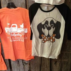 Cute GameDay wear! I love the Smokey with the bow tie!