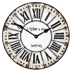 Jack'sRoom : Industrial Loft Style -- For Bedroom -- French Tower Clock | The Big Clock Store
