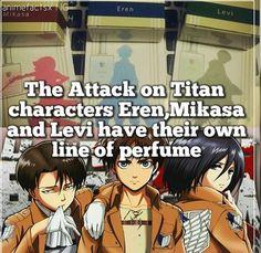 Attack on Titan perfume