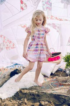 5872dc72e Nellystella Alexis Dress in Rainbow Dream Catcher - Available Now! – The  Girls @ Los Altos