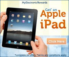 Want to get a Free Apple ipad, check out this