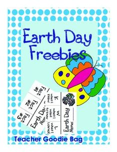Earth Day FreebiesEarth Day is coming.  Use these freebies to teach about the importance of Earth Day, and how students can do their part.   This download includes flippables, and writing activities.  Please leave feedback.  Enjoy!