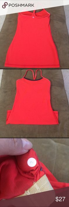Power y lulu top Used good condition top lululemon athletica Tops Tank Tops