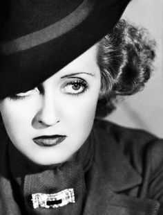 Bette Davis. Current actress on DOOL< Jen Lilley has a look of Bette in this picture!!