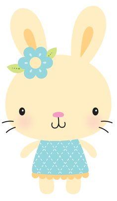 Cute bunny little girl Safari Nursery, Nursery Prints, Nursery Wall Art, Animal Nursery, Nursery Decor, Animal Drawings, Cute Drawings, Easter Wallpaper, Tableau Design