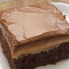 Peanut Butter Fudge Cake (Southern Living)