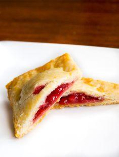 Gluten-Free Raspberry Rhubarb Hand Pies ~ recipe