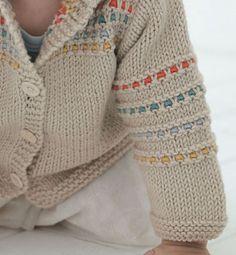 saquito beige c lanas pdas