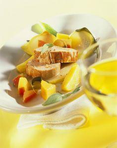 Schweinefilet auf Kartoffel und Quitten - smarter - Kalorien: 338 Kcal - Zeit: 1 Std. 20 Min. | eatsmarter.de