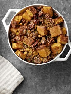 The Fabulous Beekman Boys' Cornbread Stuffing with Pecans and Sweet Sausage (2011)