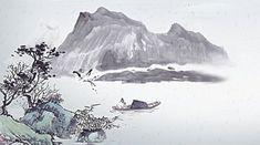 Chẳng nhẫn được người công đức một đời không thành chính quả Illustration Art, Clip Art, Mountains, Nature, Travel, Paisajes, Backgrounds, Voyage, Viajes